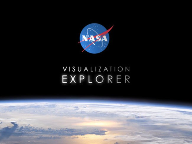 NASA Visualisation Explorer iPad App
