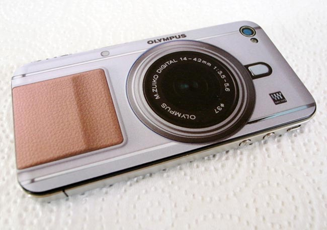 Olympus PEN iPhone 4 Decals