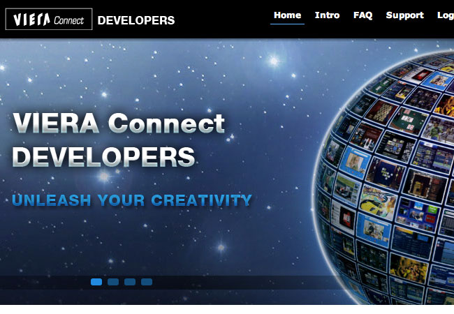 Panasonic Viera Connect Developer Portal