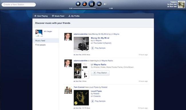 Pandora New Website