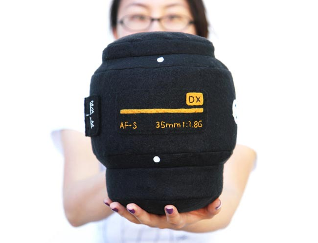 Prices start at $35 for the two smaller ones and $65 for the large Canon lens  pillow, although it looks like the must be popular as some of the versions  are ...