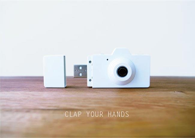 Powershovel CLAP Digital Camera