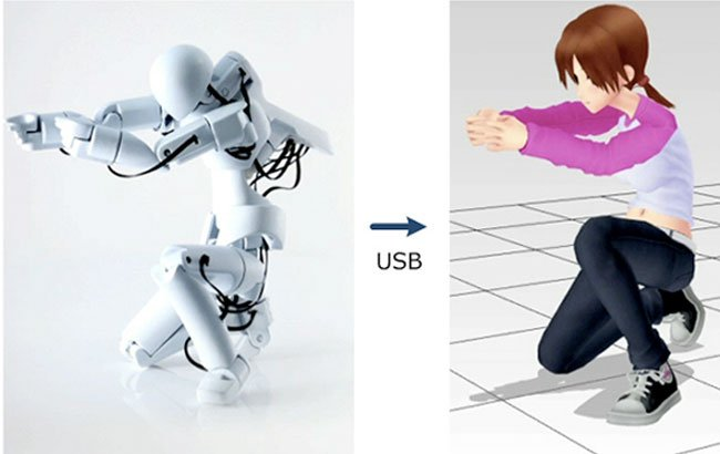 Quma: 3D Motion-Capture Figure