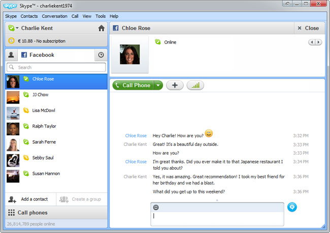 Skype 5.5 Windows