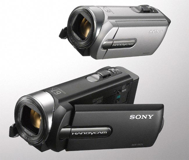 Sony SX21E And SR21E Camcorders