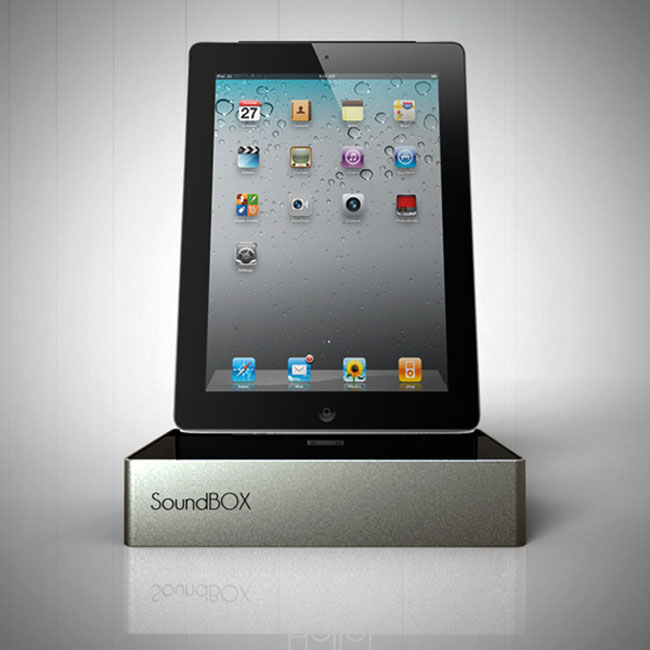Control 4 Ipad Sound Box Ipad Speaker Dock 4