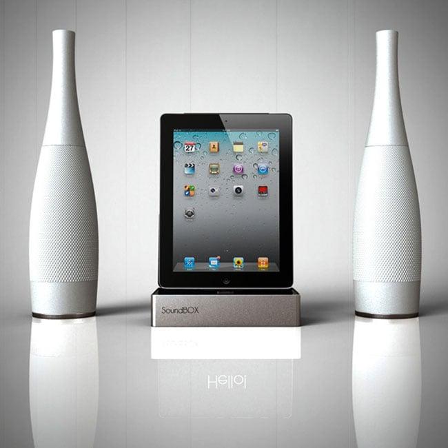 Sound Box Ipad Speaker Dock Concept