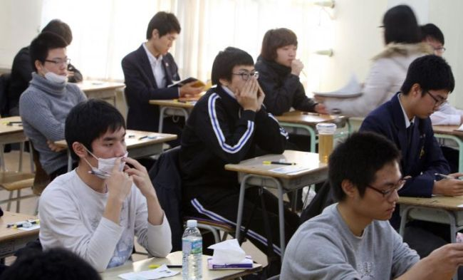 South Korean classroom