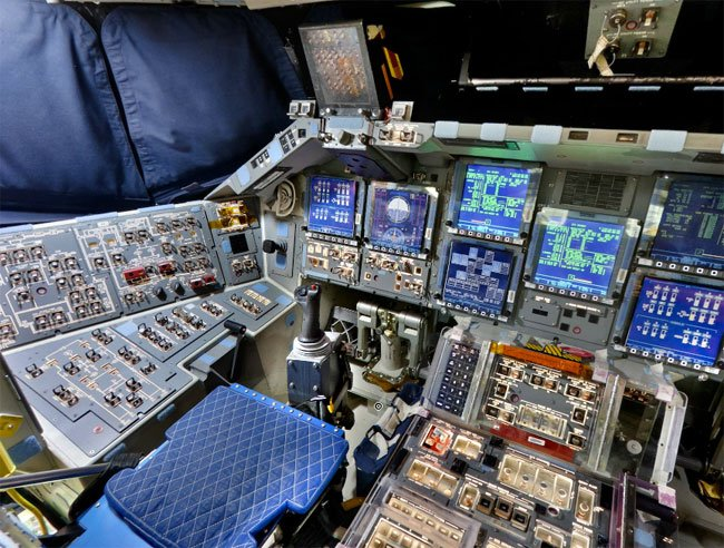 Space Shuttle Flight Deck