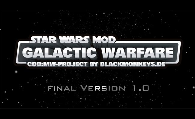 Star Wars Galactic Warfare Mod