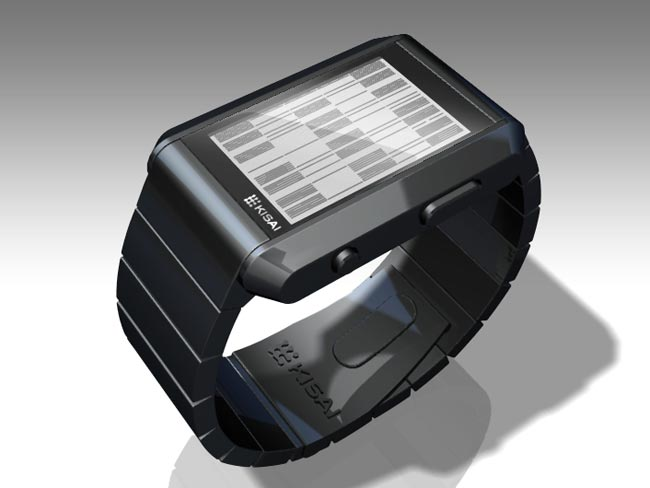 Tokyoflash Right Angle LCD Watch
