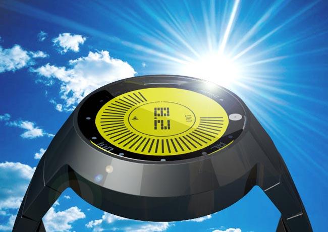 Tokyoflash UV Index LCD Watch