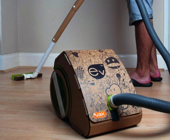 The Vax EV, The Worlds First Cardboard Vacuum Cleaner