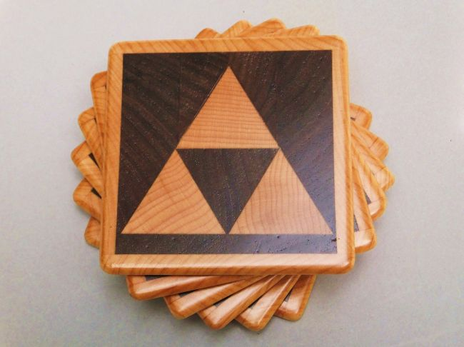 Zelda coasters