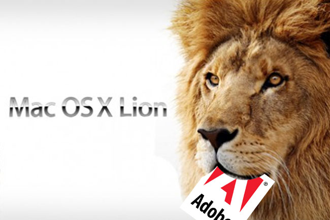 adobe flash OS X Lion