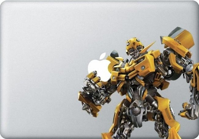 bumble bee macbook decal