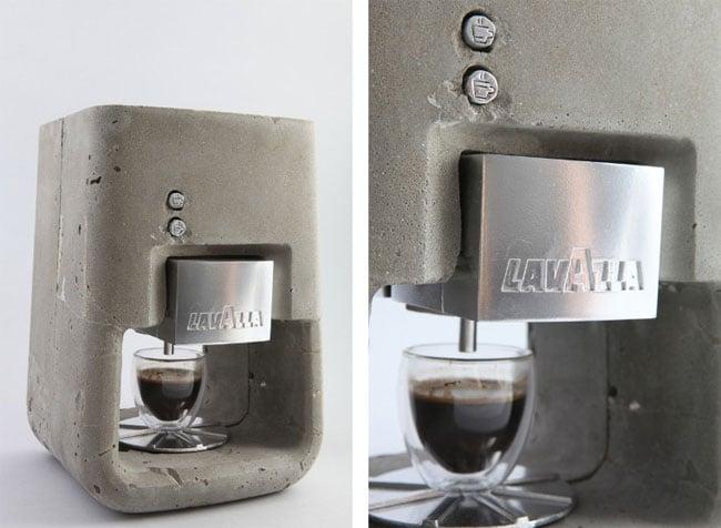 concrete coffee maker
