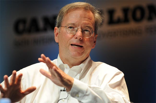 Google's Eric Schmidt Responds To Apple Android Lawsuits