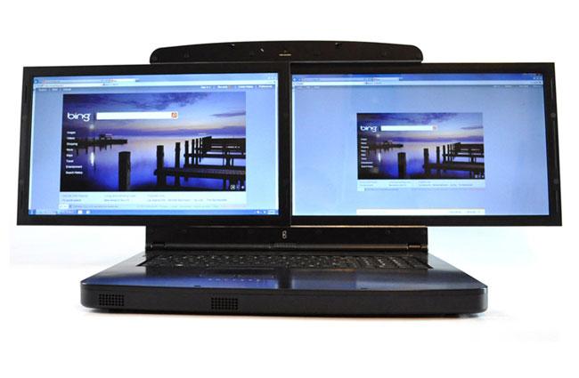gScreen Dual Screen notebook