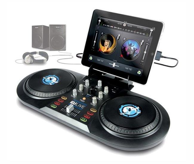 iDJ Live iPad, iPhone And iPod DJ Controller