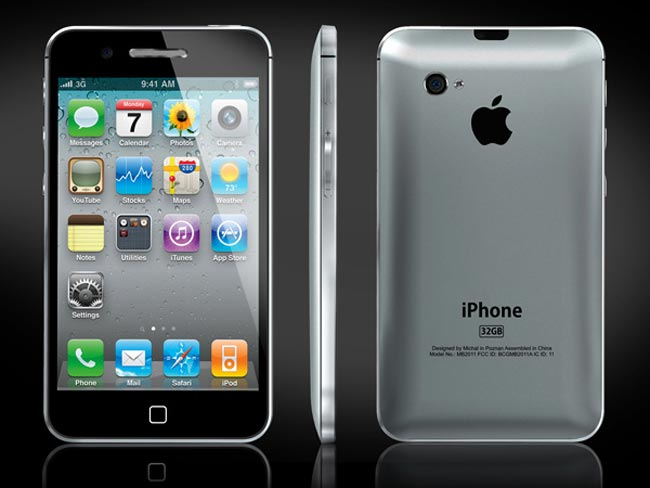 iPhone 5 Concept Design