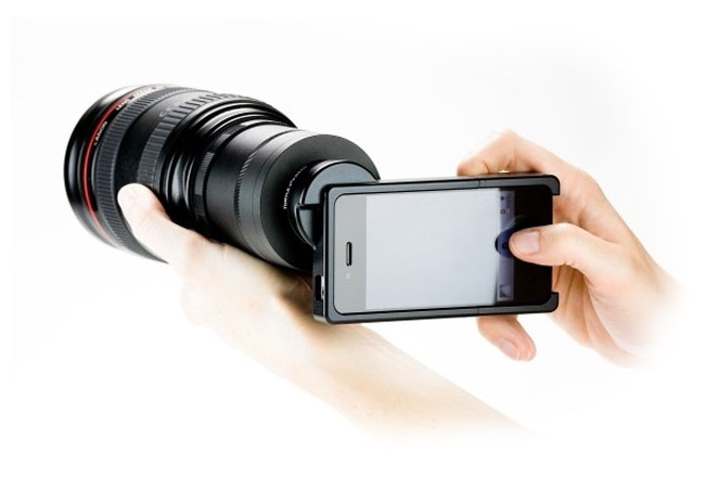 iphone DSLR adapter