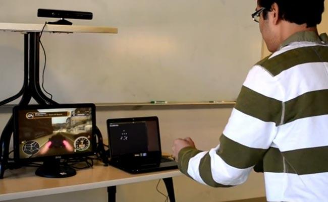 Kinect Racing Mod