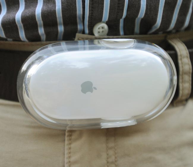 Mac Mouse Belt Buckle