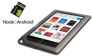 Nook Color Receives Dual Boot Support Via Nook2Android