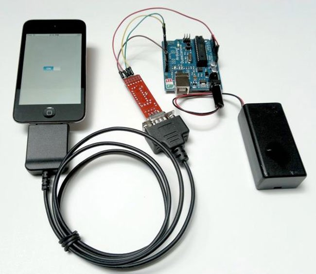 Make offers redpark breakout pack for arduino and ios