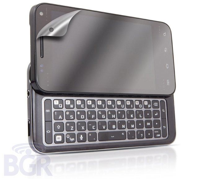 Samsung QWERTY Android device