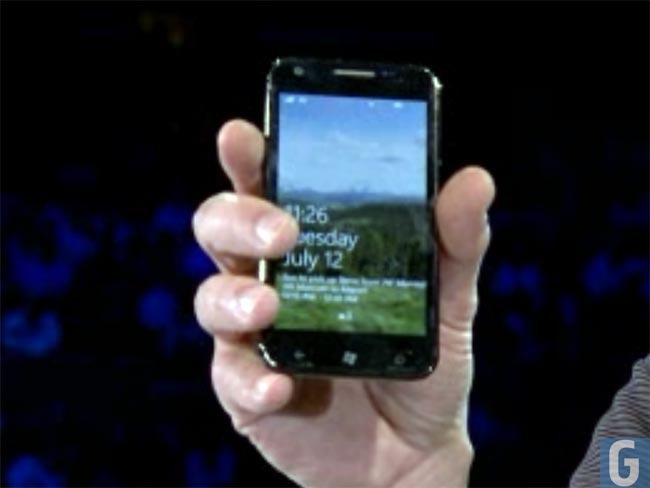 Windows Phone 7 Samsung Galaxy S II
