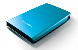Verbatim Offers Brightly Colored USB 3.0 Store 'n' Splash HDD