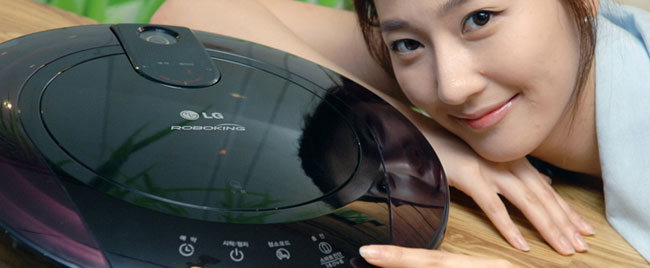 LG vr6172lvm Robot Vacuum