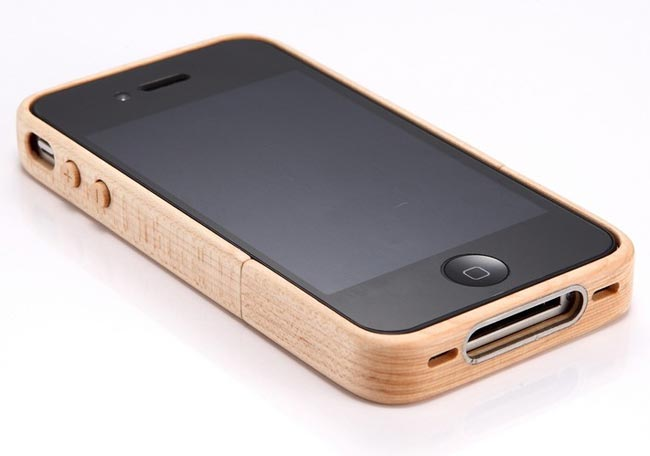 Wooden iPhone 4 Case
