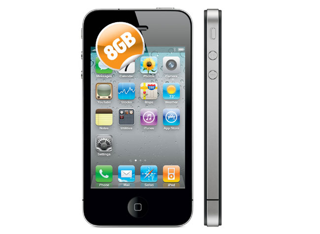 8GB iPhone