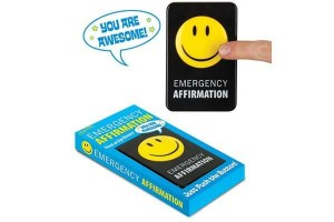 Emergency Affirmation Button Spreads The Awesome