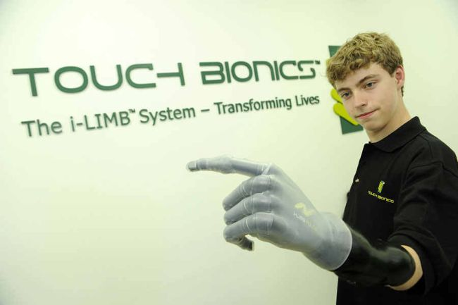 Bionic Arm kid