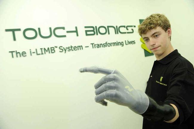 Bionic Arm kid