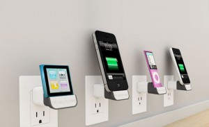 Bluelounge MiniDock Wallet Socket iOS Charger (video)