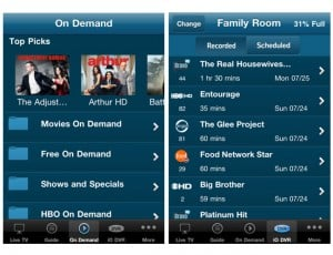 Cablevision Launches Optimum iPhone,iPod App With Streaming Cable TV
