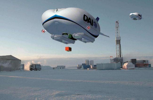 Canadian airship