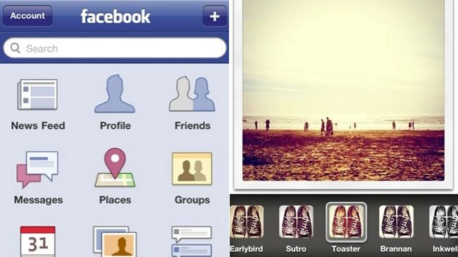 Facebook Photo Filters