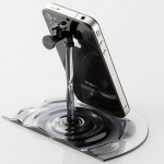 Nendo Elecom Faucet iPhone And iPad Stand