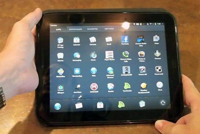 HP TouchPad Gets WebOS 3.0.2 Update