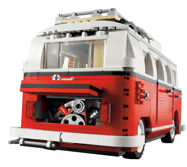 lego vw camper van 1962 t1 combi video. Black Bedroom Furniture Sets. Home Design Ideas