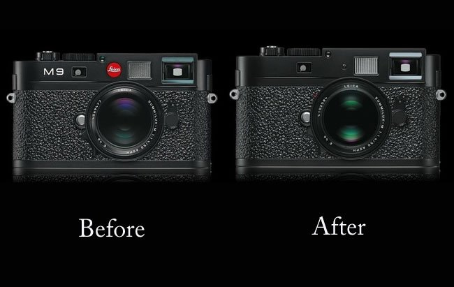 Leica Red Dot Removal