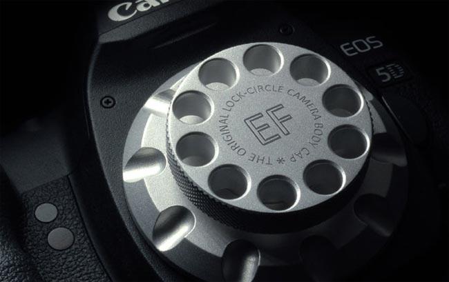 LockCircle Aluminum DSLR Cap
