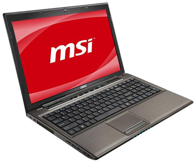 MSI GE620DX Core i7 Gaming Laptop