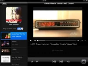 MusicTandem iPad App Automatically Creates And Streams Playlists From YouTube Videos